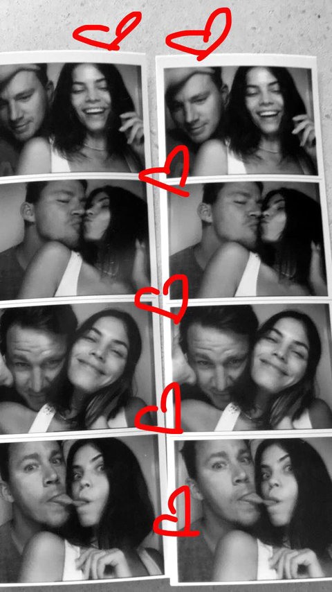 Channing Tatum and Jenna Dewan-Tatum - Embed