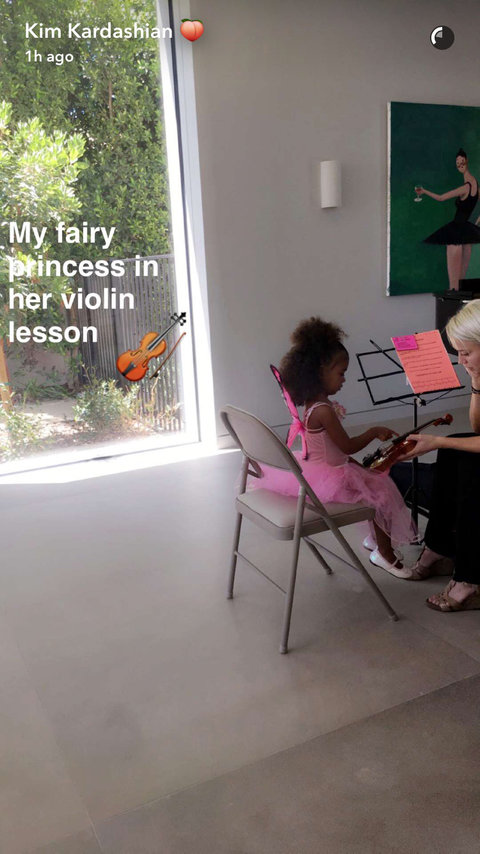 North's Violin Lesson