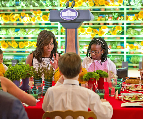 Michelle Obama Kids' State Dinner - Embed 2016