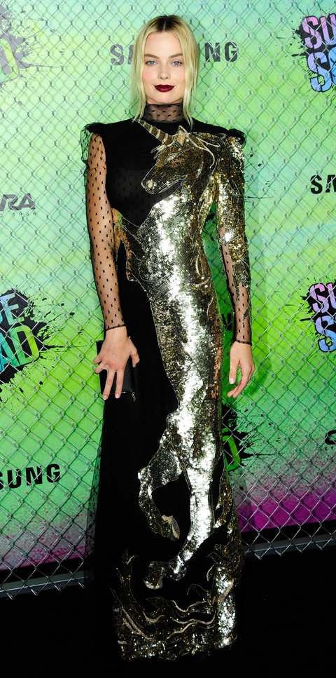 Margot Robbies Red Carpet Style InStylecom