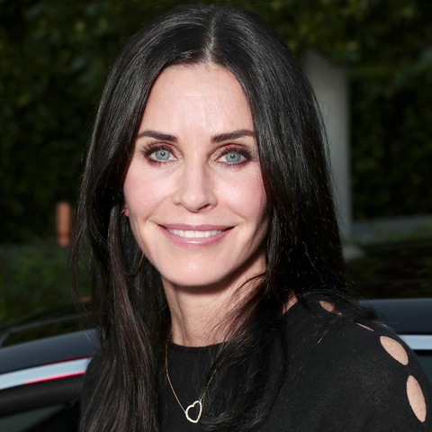 Courteney Cox's Changing Looks | InStyle.com