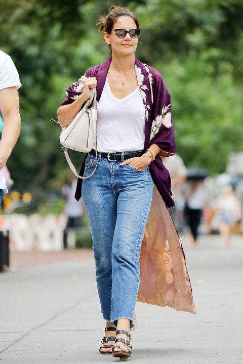 Katie Holmes S Best Looks Instyle Com