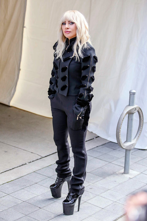 Lady Gaga S Best Street Style Outfits Instyle Com