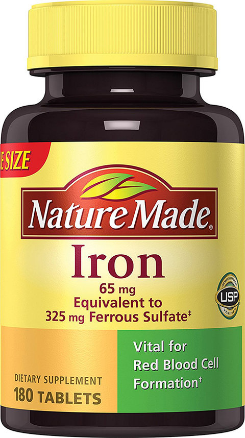 Nature Made Iron Tablets