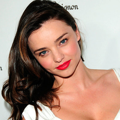 cute simple hair styles easy hairstyles to try at home instyle co uk 2100 | MirandaKerr2100easycelebrityhairideaspictures