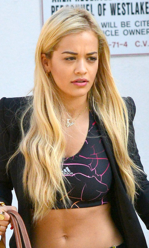 Hair extensions ideas and inspiration instyle long blonde hair extensions rita ora pmusecretfo Image collections