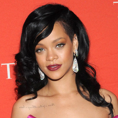 rihanna black hair styles rihanna hairstyles instyle co uk 3898 | rihanna hairstyles black hair 2013 1