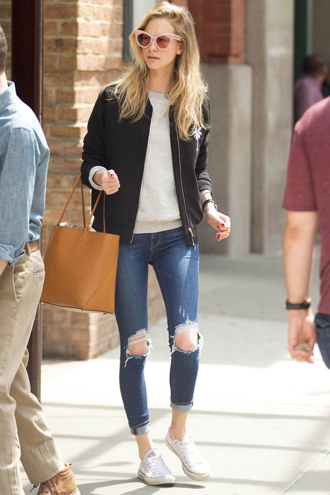Celebrity casual style inspiration for your off duty Celeb style fashion uk