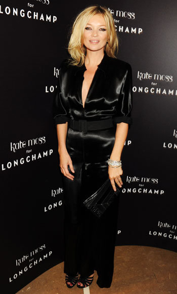 London Fashion Week Spring/Summer 2011 - Longchamp Party - Kate Moss