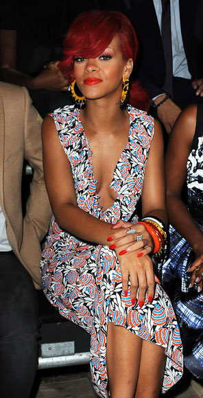 Paris Fashion Week - Miu Miu Show - Rihanna