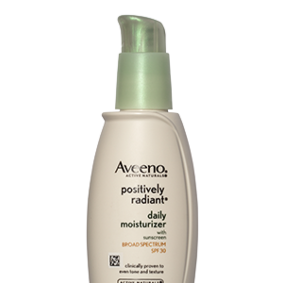 Aveeno Positively Radiant SPF 30