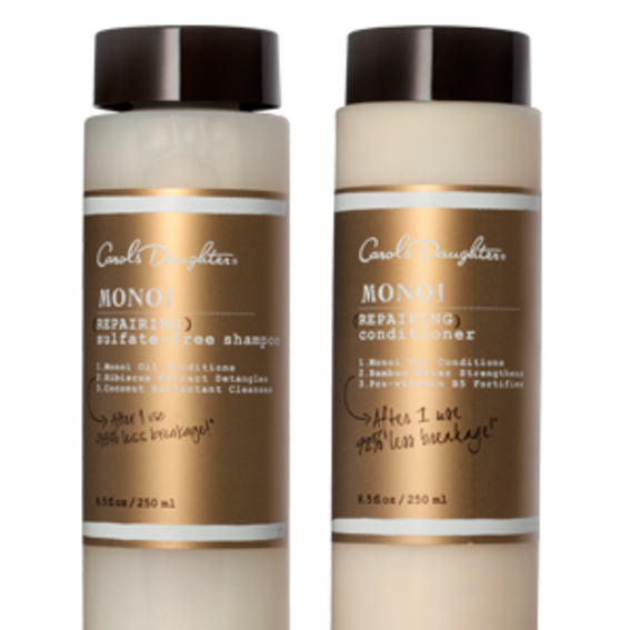 Best Shampoo & Conditioner For Brittle Hair: Carol's Daughter Monoi
