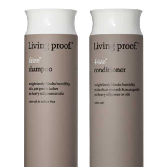 Best Shampoo & Conditioner For Frizzy Hair: Living Proof No Frizz