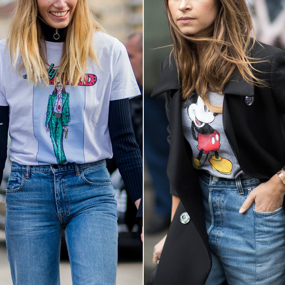 6 New Ways to Rock Your Old Graphic Tee