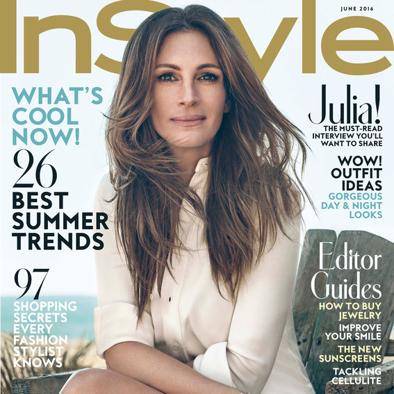 Julia Roberts Talks Fashion, Motherhood, and the Joys of Unplugging Inside the New <em>InStyle</em>