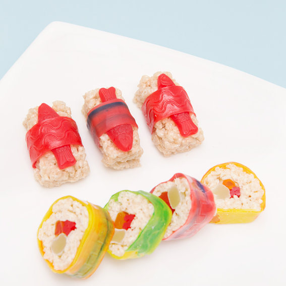 How to Make Candy Sushi (Yes, You Read That Correctly)