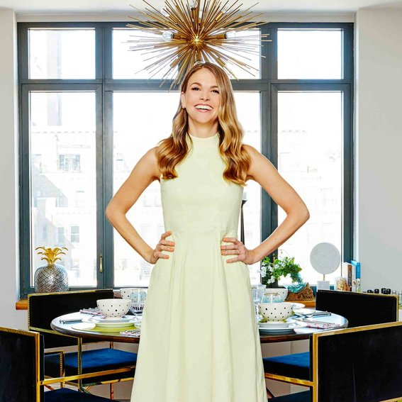 Sutton Foster's N.Y.C. Home Gets a Colorful Update