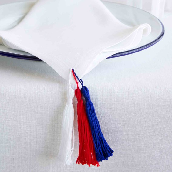 Bring the Tassel Trend to Your Tabletop with ThisEasy, 4-Step DIY from David Stark
