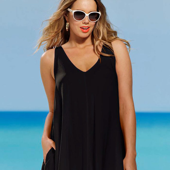 5 Ways to Wear a Plus-Size Swimsuit Off the Beach