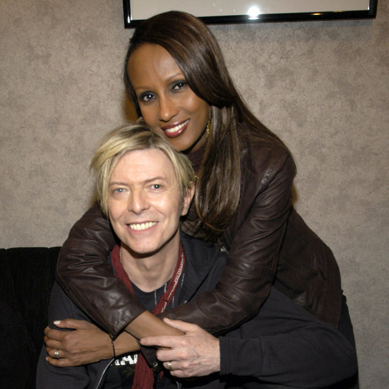 It's Iman's 61st Birthday: Look Back at Her Cutest Couple Moments with Late Husband David Bowie