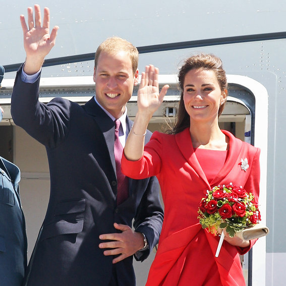 Look Back at Prince William and Kate Middleton's First Trip to Canada as a Couple
