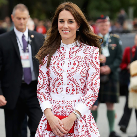 Kate Middleton Radiates in the Colors of the Canadian Flag