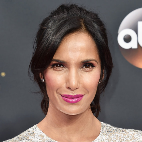 "Padma Lakshmi Posts a Smoking Hot Lingerie Photo: ""Moms Do That Sometimes"""