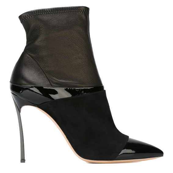 Shop Patent Leather Boots Instyle Com