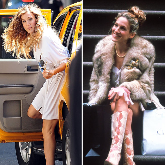 10 Times Sarah Jessica Parker Was Living Proof that the Shoes Make the Outfit