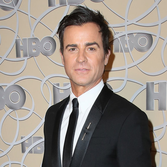 Justin Theroux Spent a Globes After-Party Wishing He Was with PJ-Clad Jennifer Aniston