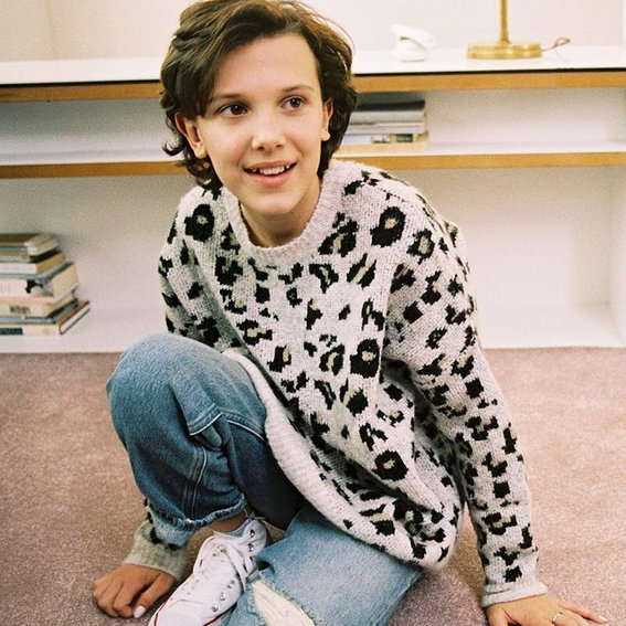 Millie Bobby Brown Analyzes Movie Characters Who Wear Chuck Taylors: Watch