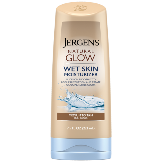 Jergens Natural Glow Wet Skin