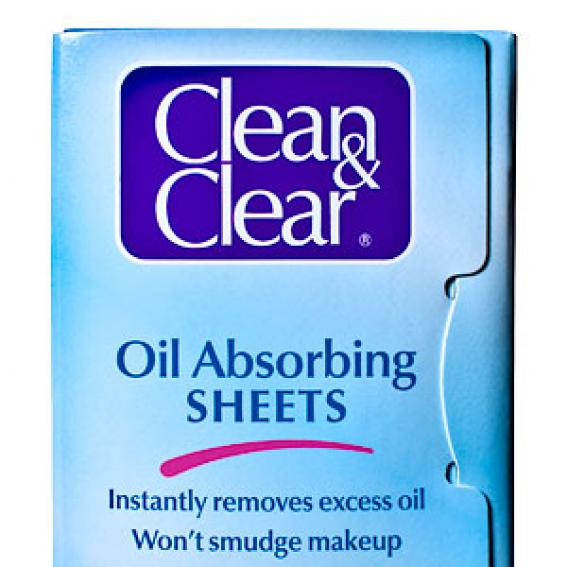 Clean & Clear Blotting Papers
