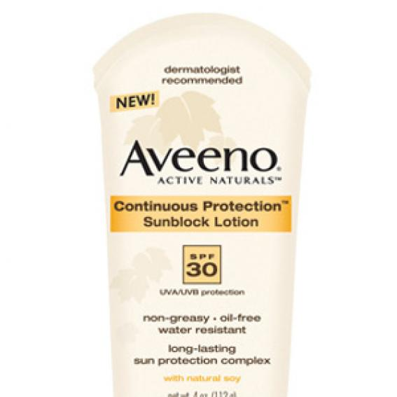 Aveeno Continuous Protection Sunblock Lotion SPF 30