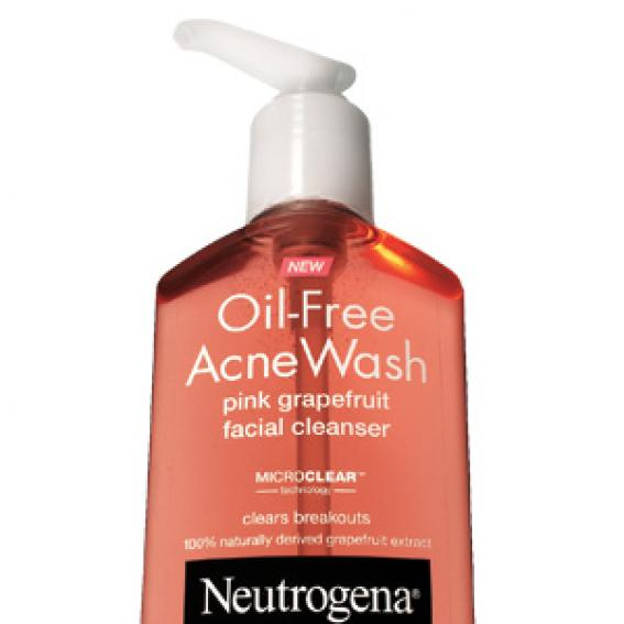 Neutrogena Oil-Free Acne Wash Facial Cleanser