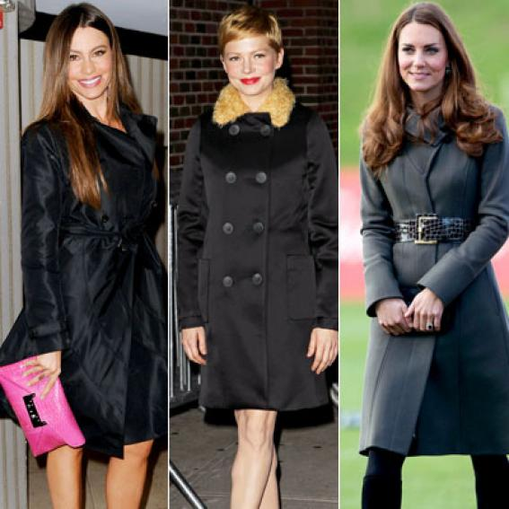Flattering Coats For Your Shape | InStyle.com