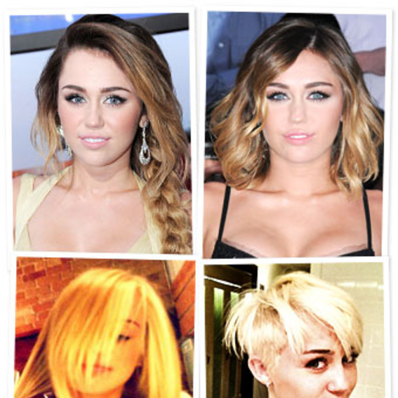 Miley Cyrus S Short Hair See The New Cut Instyle
