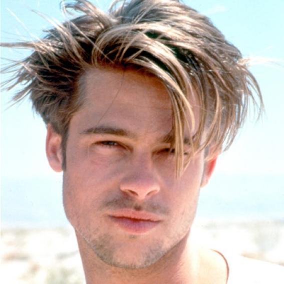 Brad Pitts Changing Looks InStylecom