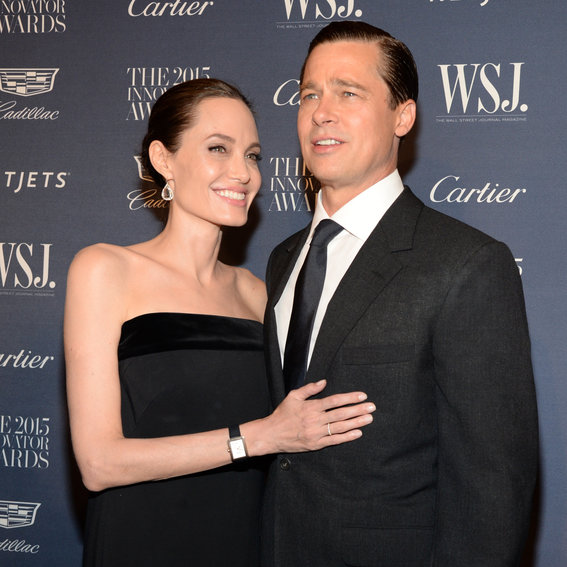 Brad Pitt and Angelina Jolie's Cutest Couple Moments