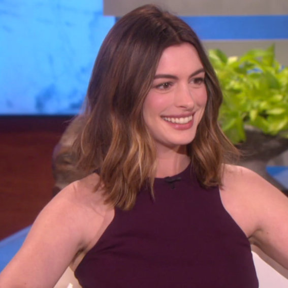 Anne Hathaway Dishes on Motherhood and Why She's Not Trying to Lose the Baby Weight Just Yet