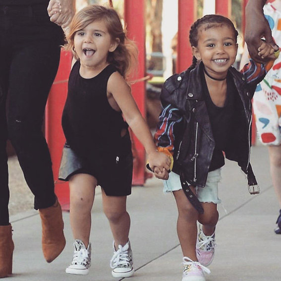 North West and Penelope Disick Are Too Cute Taking Salsa Lessons in Cuba