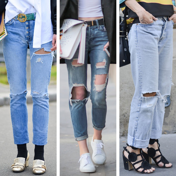 How to Distress Your Jeans at Home