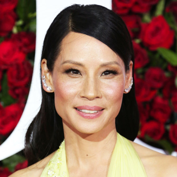 Lucy Liu Shares Rare Photo of Her and Her Mini-Me Son on <em>Elementary</em> Set