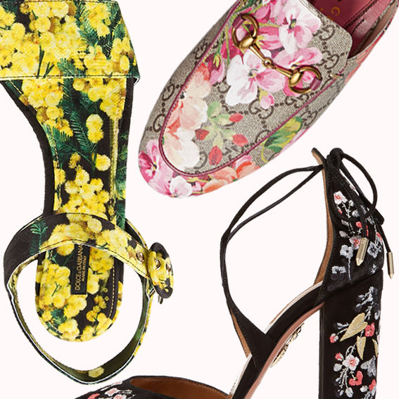 6 New Ways to Wear Florals That Have Nothing to Do with Your Dress