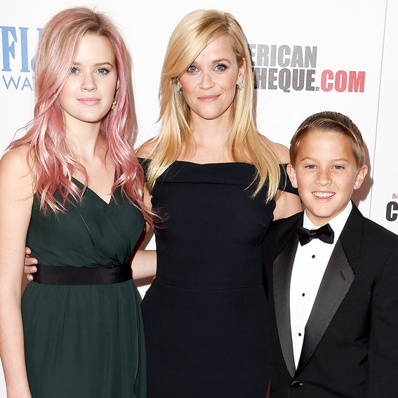 See Reese Witherspoon KickOff Summer Vacation with Her Kids