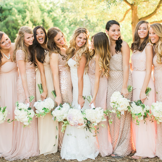 How to Do Mismatched Bridesmaid Dresses - InStyle.com
