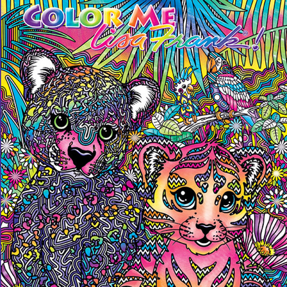 Lisa Frank Adult Coloring Books Exist and We're Psyched