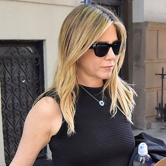 Jennifer Aniston Steps Out in Jeans and a Tank in N.Y.C.