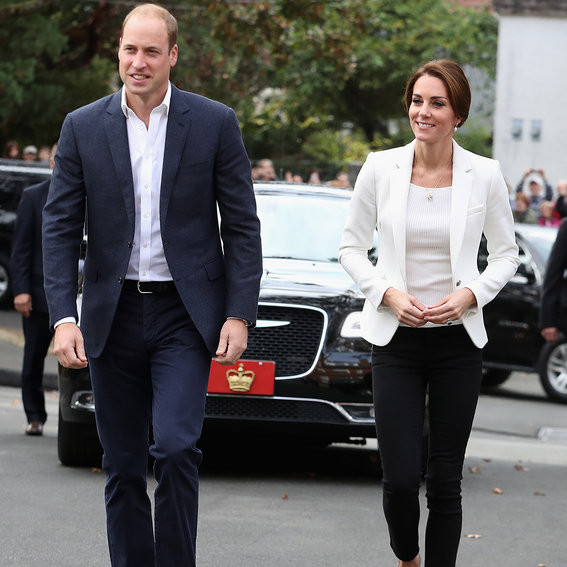 Kate Middleton Is Perfectly Polished in Black and White Separates on Last Day of Canada Tour
