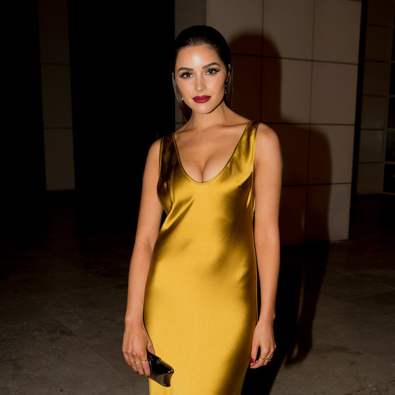 Olivia Culpo's Gold 2016 <em>InStyle</em> Awards Dress Was Inspired by <em>How to Lose a Guy in 10 Days</em>